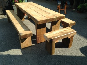 Timber Wales High Quality Picnic Tables And Other Timber Products - Timber picnic table